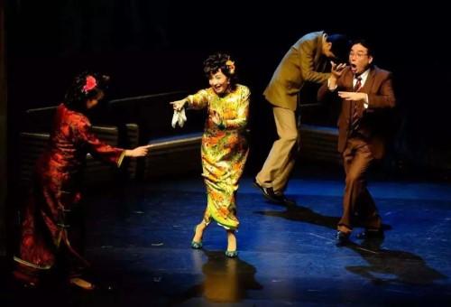 【上海站】2018上海•静安现代戏剧谷名剧展演剧目 明星版话剧《四世同堂》