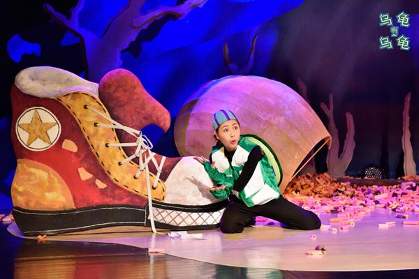 【上海站】肢体舞台剧《小海龟 de 奇妙历险》